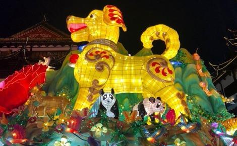 Le chien de terre, Yu Garden à Shanghai. Photo (c) Caroline Boudehen
