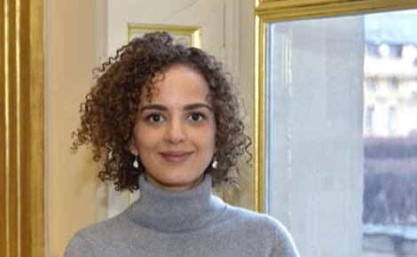 Leïla Slimani, représentante personnelle d'Emmanuel Macron pour la francophonie. Photo (c) Thibaut Chapotot