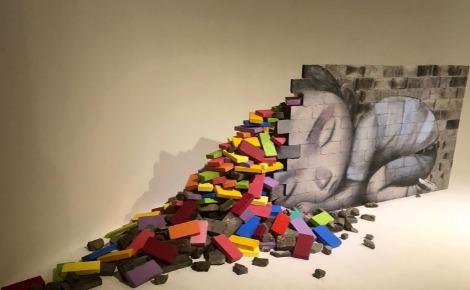 """Seth: """"In my dreams"""", MOCA Shanghai. Photo (c) Caroline Boudehen"""