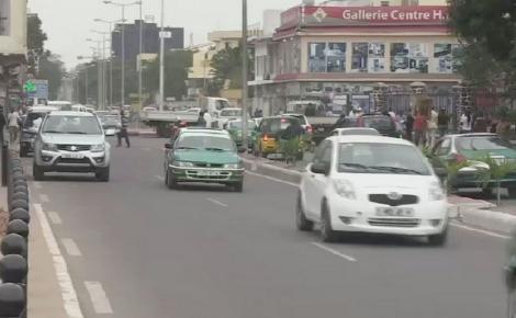 Centre-ville de Brazzaville. Photo prise par Armelle Nga