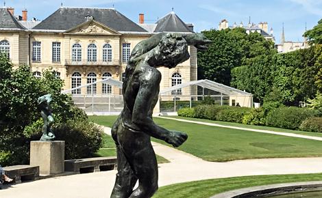 Musée Rodin, Hôtel Biron à Paris, Photo (c) Charlotte Service-Longépé