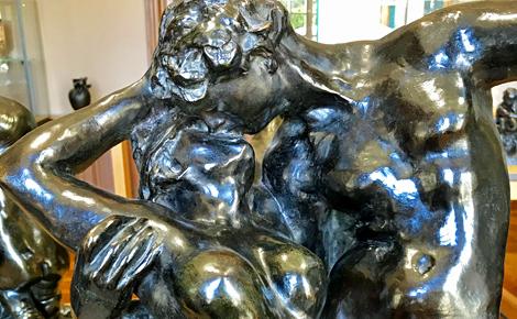 Rodin, Le Baiser. Photo (c) Charlotte Service-Longépé