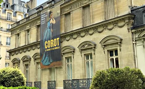 Corot au Musée Marmottan-Monet, Paris. Photo (c) Charlotte Service-Longépé