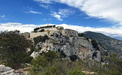 Vue du Fort de la Tête de Chien. Photo (c) Charlotte Service-Longépé