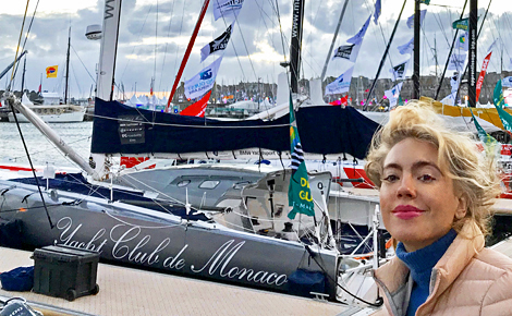 Malizia II du Yacht Club de Monaco. Photo (c) CS-L