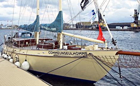La goélette Ahoy construite d'après des plans anciens. Photo (c) CS-L