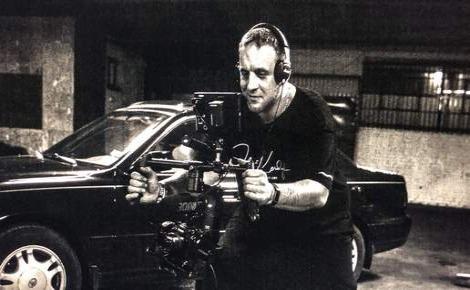 Julien Kerduff en plein travail à Los Angeles. Photo (c) Justraw5.