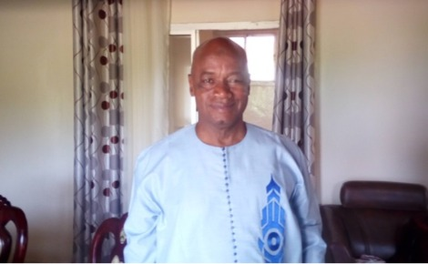 Mouctar Bah, correspondant de RFI à Conakry. Photo prise par Boubacar Barry