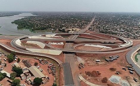 L'échangeur du Nord. Photo (c) Pascal Ilboudo