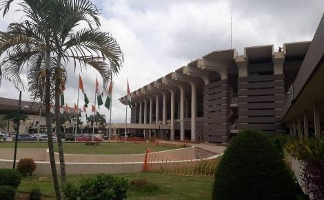 Le site de l'Institut INPHB à Yamoussoukro. Photo (c) Laura Marchiollo