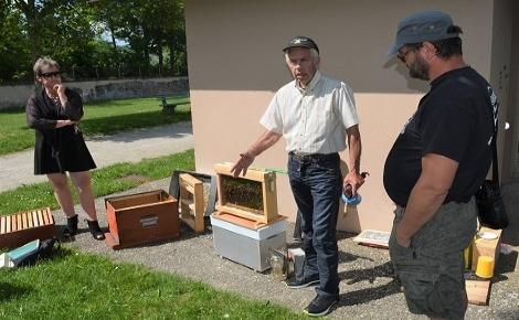 L'homme et ses cultures dépendent de l'abeille. Photo (c) Frédérique Gelas