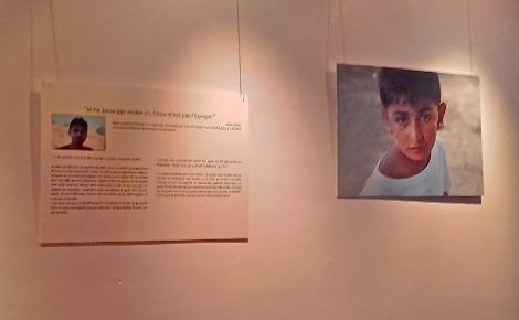Les photographies de Pierre Boissel accompagnent à merveille les témoignages. Photo (c) Margaux de Bourmont