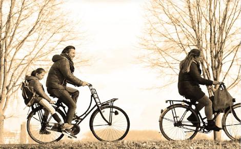 Pour la plupart des Français, le vélo reste avant tout un loisir. Photo (c) Mabel Amber