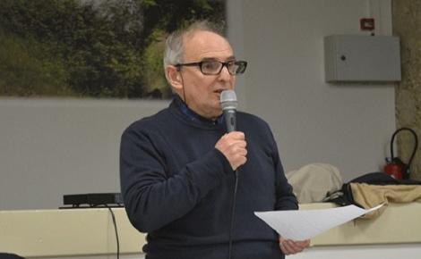 Pierre Rousset, maire de La Sône. Photo (c) Frédérique Gelas