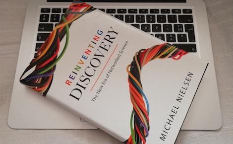 Le livre de Michael Nielsen. Photo (c) Isabelle Lépine