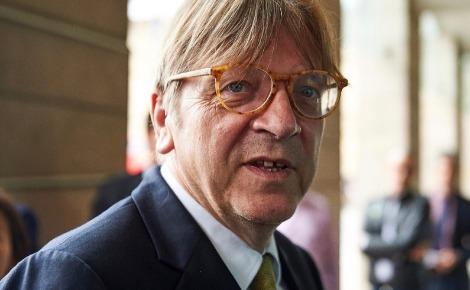 Guy Verhofstadt, tête de liste de son parti pour les européennes @ParlementEuropéen