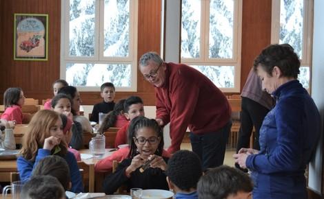 Les élus sont allés à la rencontre des élèves. Photo (c) Frédérique Gelas
