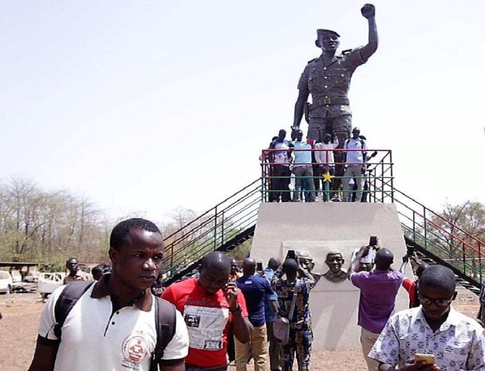 Monument de Thomas Sankara et de ses 12 compagnons. Photo (c) P.Ilboudo