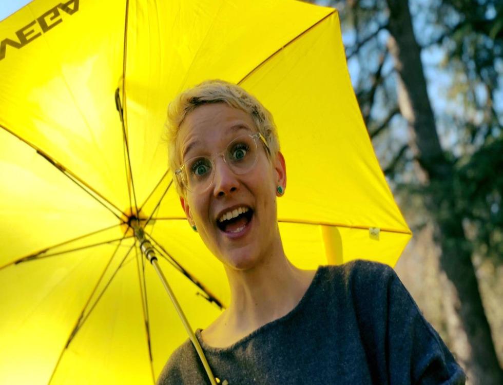 Hélène Bonhomme: révélatrice de Fabuleuses. Photo (c) Fabuleuses au Foyer