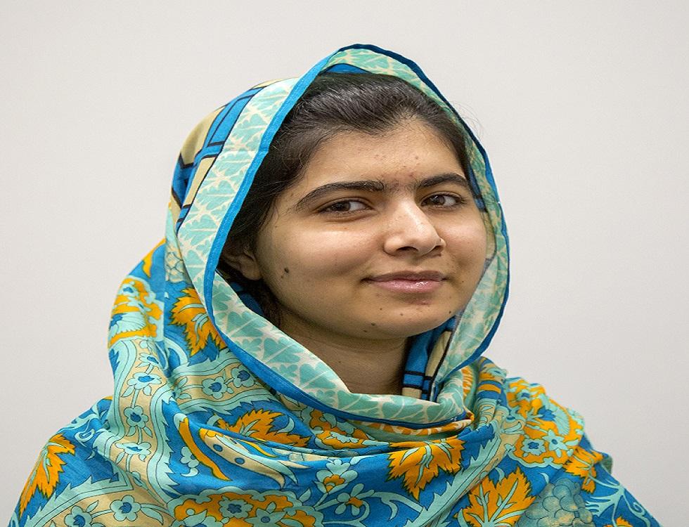 """""""Je ne demande pas aux hommes de cesser de parler au nom des femmes et de leurs droits, mais je souhaite que les femmes deviennent indépendantes et se battent pour elles-mêmes."""" Citation de Malala extrait de son discours aux Nations Unies. Photo (c) wikimédia commons"""