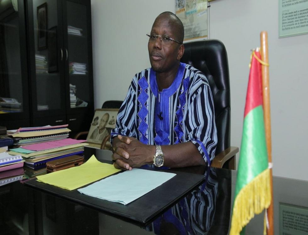 Pr Stanislas Ouaro, ministre en charge de l'Education nationale. Photo (c) P. Ilboudo