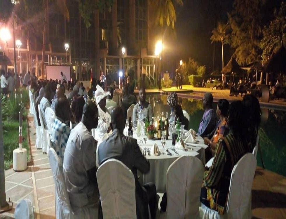 Une vue des convives à la soirée culturelle. Photo (c) A.Touré