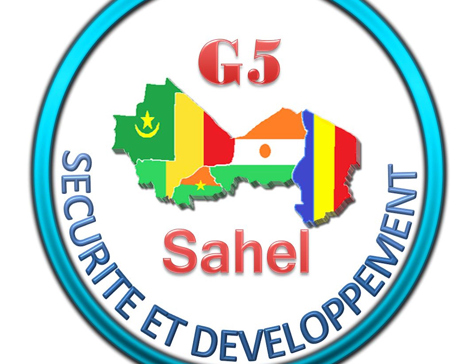 Logo Officiel du Secrétariat permanent du G5 Sahel. Photo : Aziz L Mamy