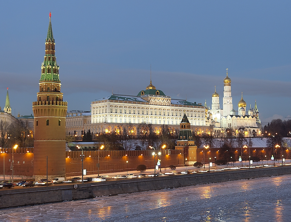 Le Kremlin à Moscou. Photo : Pavel Kazachkov.