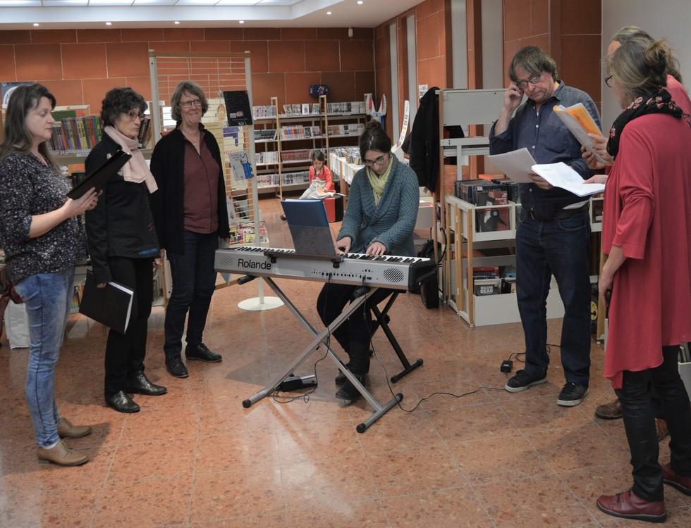 Les élèves de l'école intercommunale de musique ont assuré la première partie de soirée (c) Frédérique Gelas