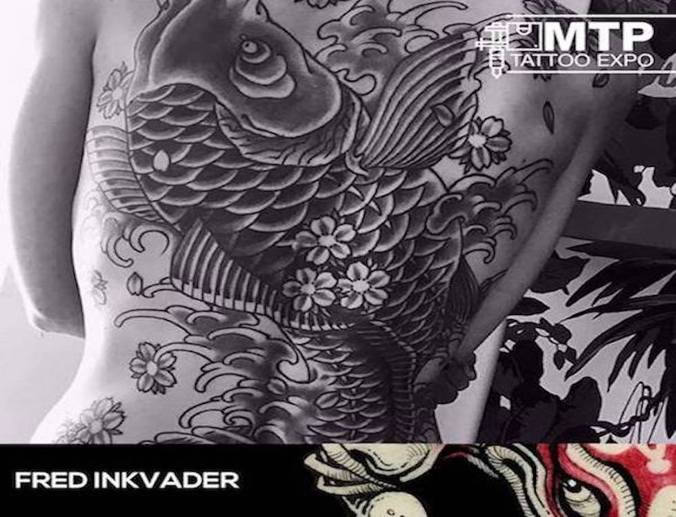Fred Inkvader (c) Montpellier Tattoo Convention