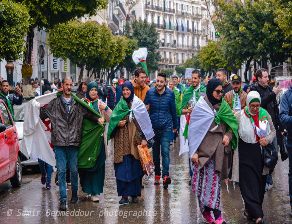 Un peuple uni par le même combat (C) Samir Benmeddour