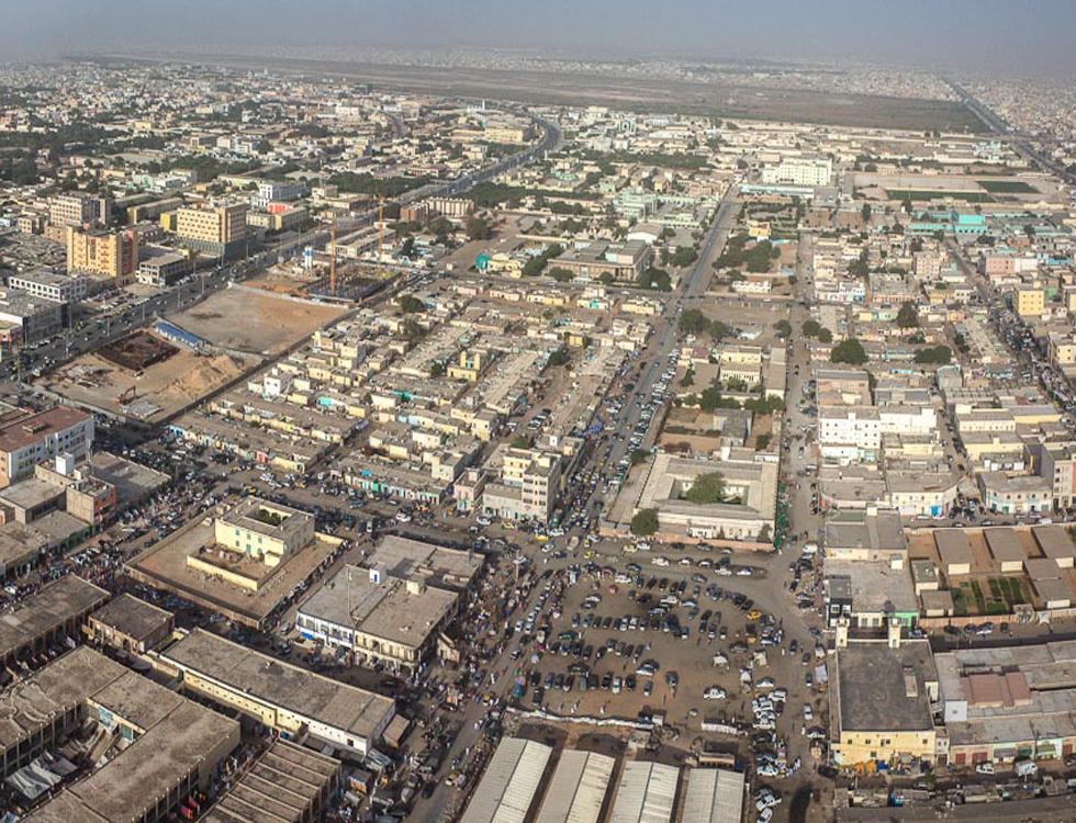 Vue de Nouakchott, capitale de la Mauritanie. Photo (c) Laminesall96 Wikimedia