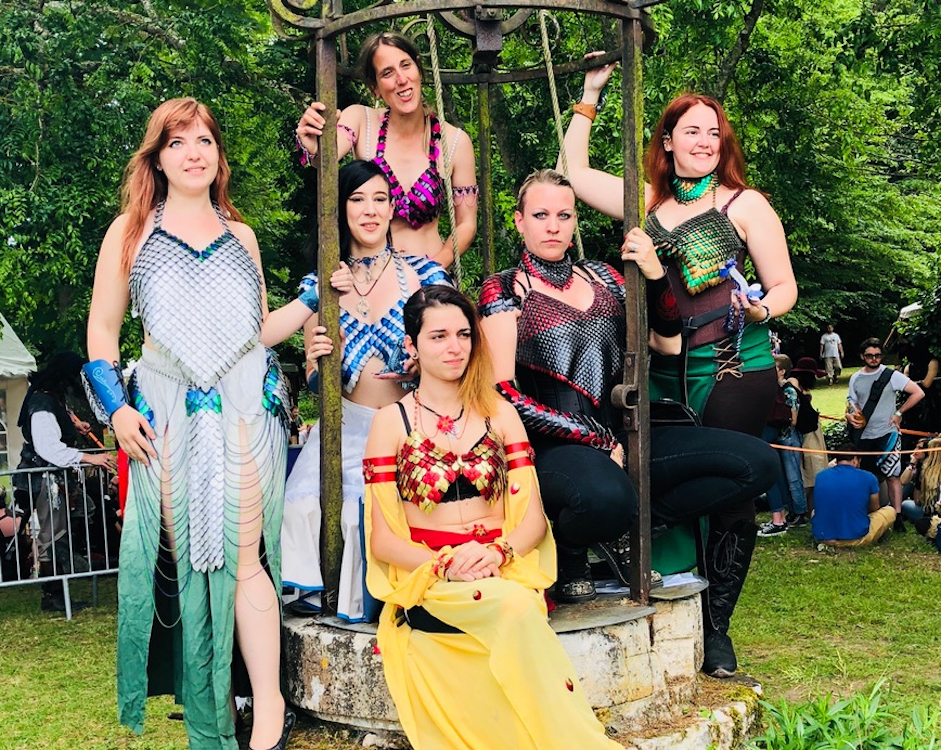 Concours de cosplay du Festival IRL Geel Faëries 2018. Photo : Natacha Haas Guégo.