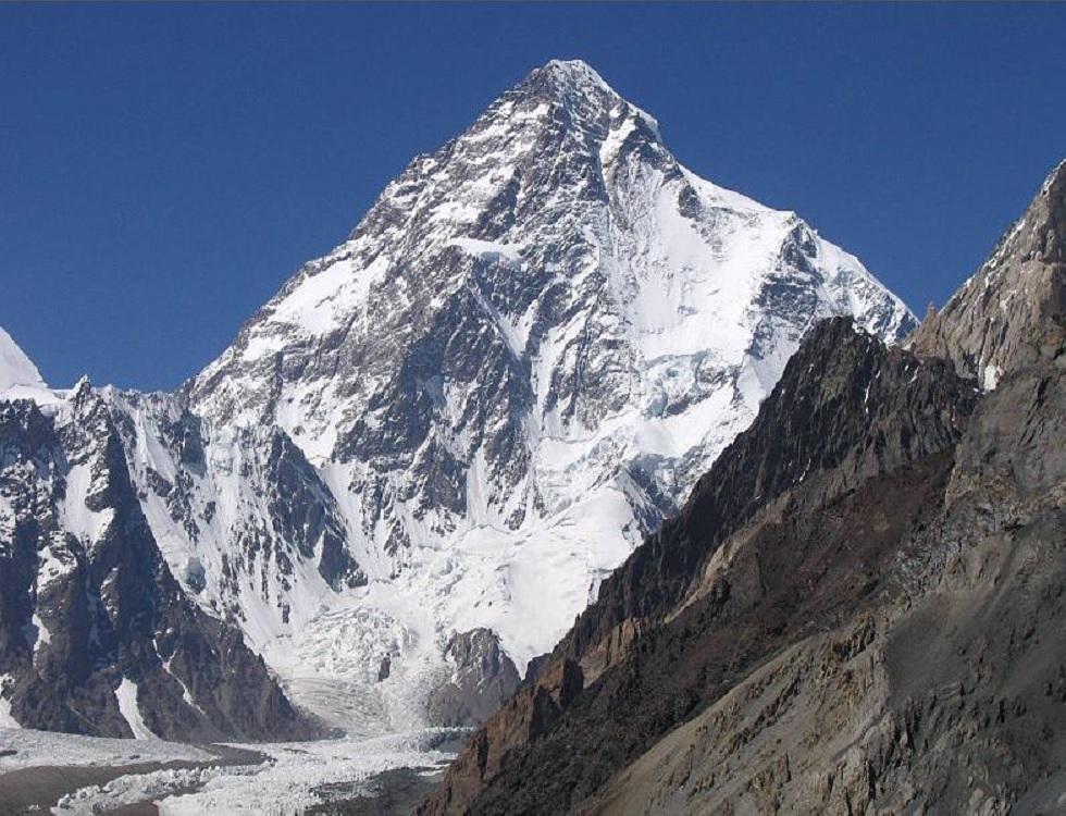 Le K2, dans l'Himalaya, dont le sommet résiste encore à Mike Horn. Photo (c) Svy123, site Wikimedia Commons