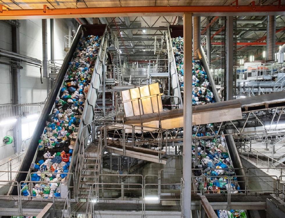Tri des déchets plastiques dans un système de séparation optique (c) www.oslo.kommune.no