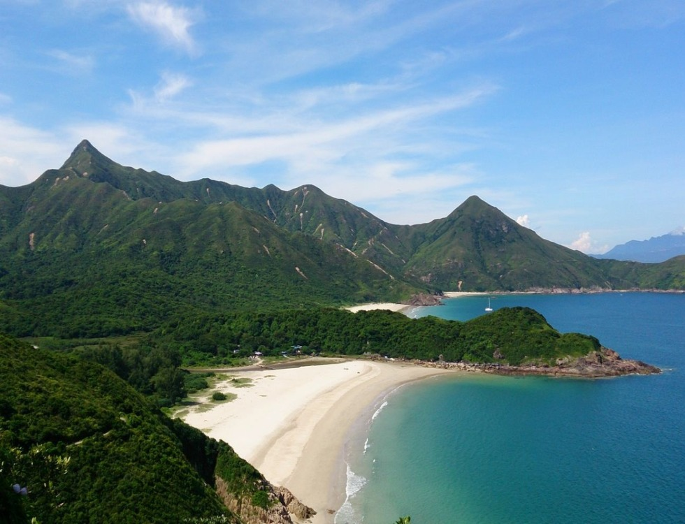 La plage de Tai Long Wan. Photo (c) Kowloon Wong