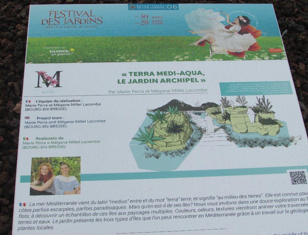 """Le projet """"Terra Medi-Aqua, le jardin archipel"""" réalisé par Marie Perra et Mégane Millet Lacombe (c) Pascale Luissint"""