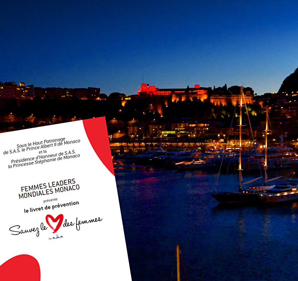 Le Livret de prévention FLMM et le Palais Princier de Monaco. Photo (c) Alain Duprat - NewDay Monaco