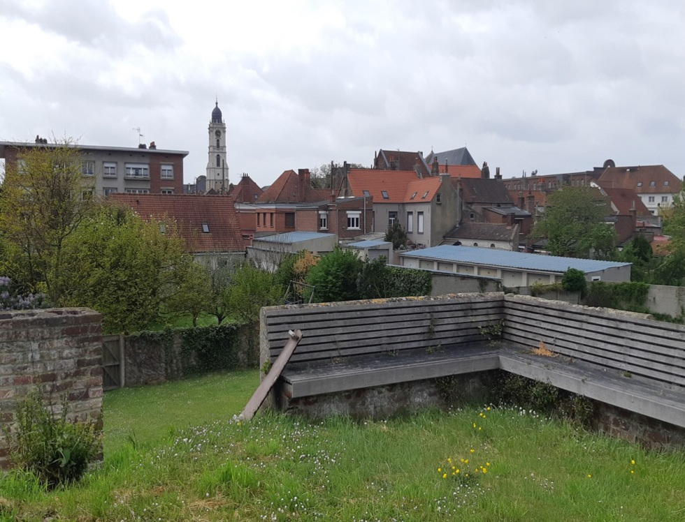 """""""Le second, nommé le bastion dit de Thiennes, fut lui construit vers 1685. C'est le célèbre architecte Vauban qui en est à l'origine.."""" (c) Ophélie Duriez"""