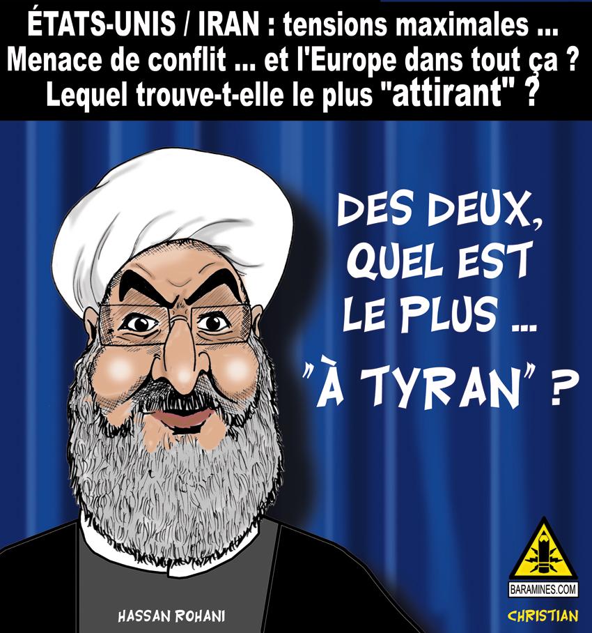 USA/Iran : Risque de conflit...