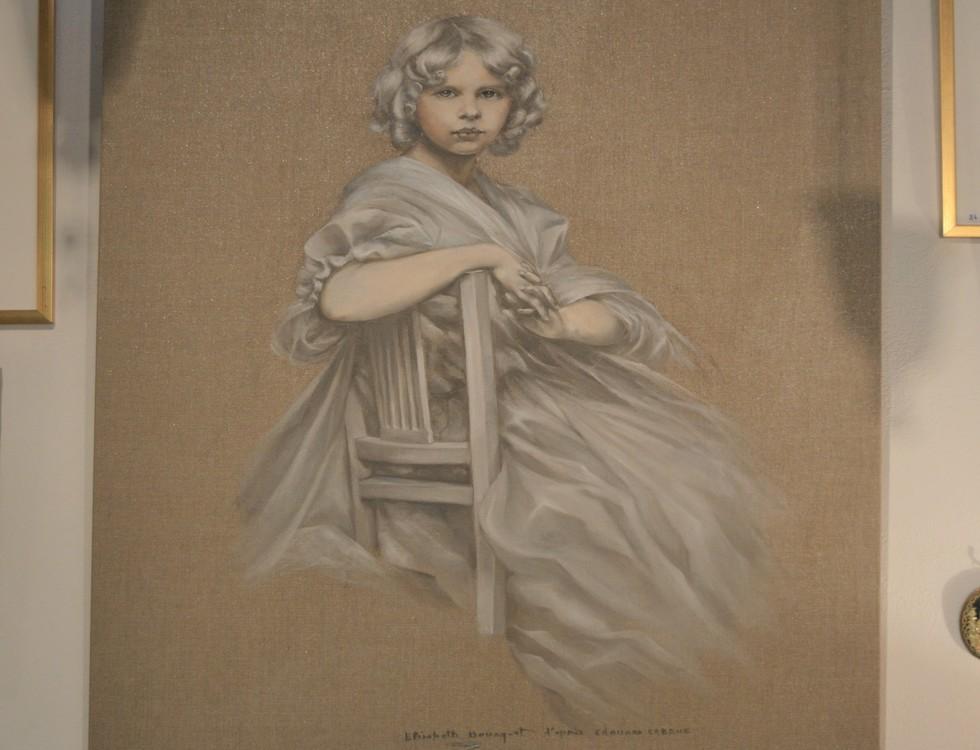 Éva, fille d'Édouard Cabane - Élisabeth Bourgeat (c) Frédérique Gelas
