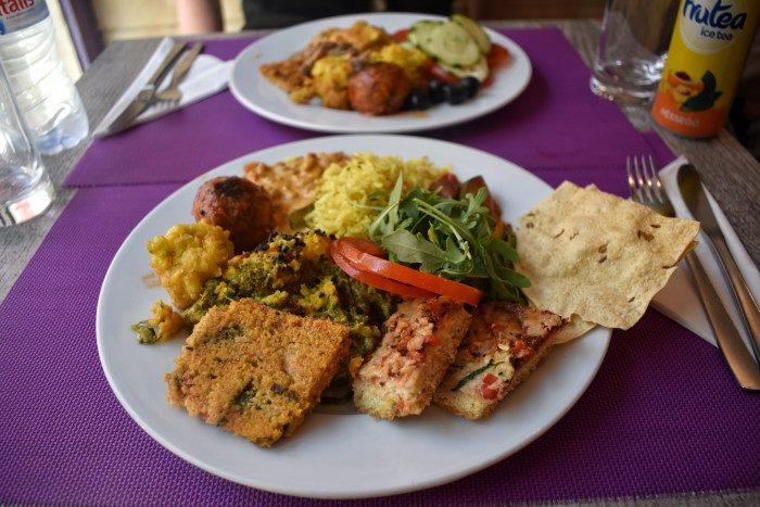 Buffet de légumes - Crédit : Jardim das Cerejas