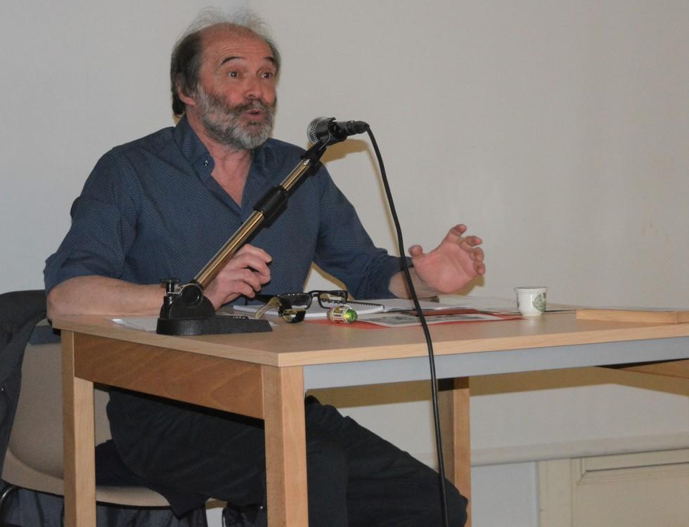C'est avec passion que Jean-François Fontana a évoqué le passé de son idole (c) Frédérique Gelas