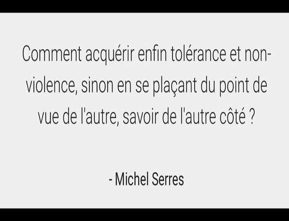 Dans le discours « Petite Poucette », M. Serres décrit une génération connaîssant des mutations profondes, des transformations hominescentes rarissimes dans l'histoire. (C) capture d'écran par Nour Mezouane