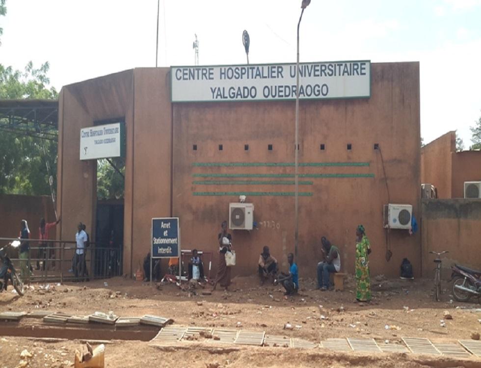 Le Centre hospitalier universitaire Yalgado Ouédraogo. (c) Radars Info Burkina