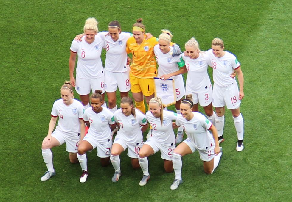 L'Angleterre n'a pas manqué son entrée dans la compétition. Photo (c) Serge Gloumeaud