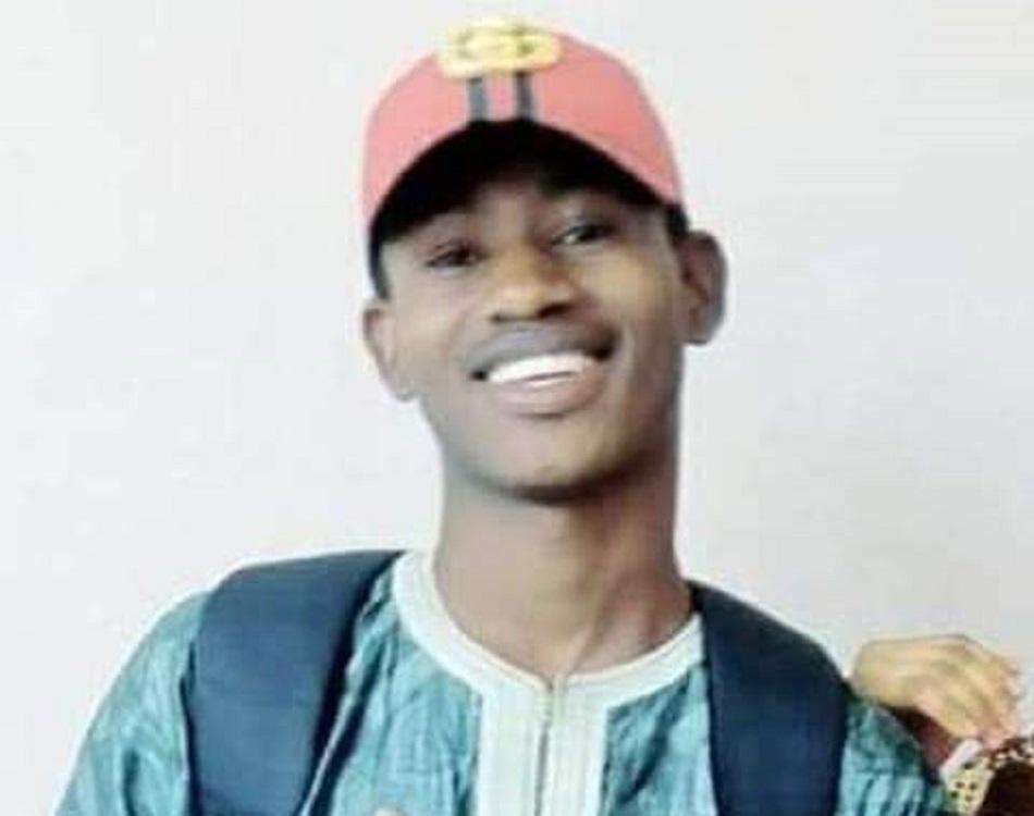 """Amadou Boukhariou Baldé, """"bastonné à mort"""" au Campus de Labé (Guinée) (c) DR"""
