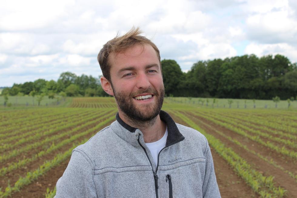 Aurélien Castel, agriculteur normand. © J. P.
