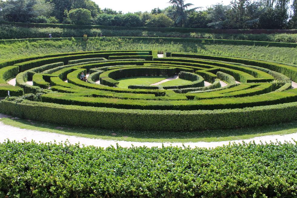 Le labyrinthe © J. P.