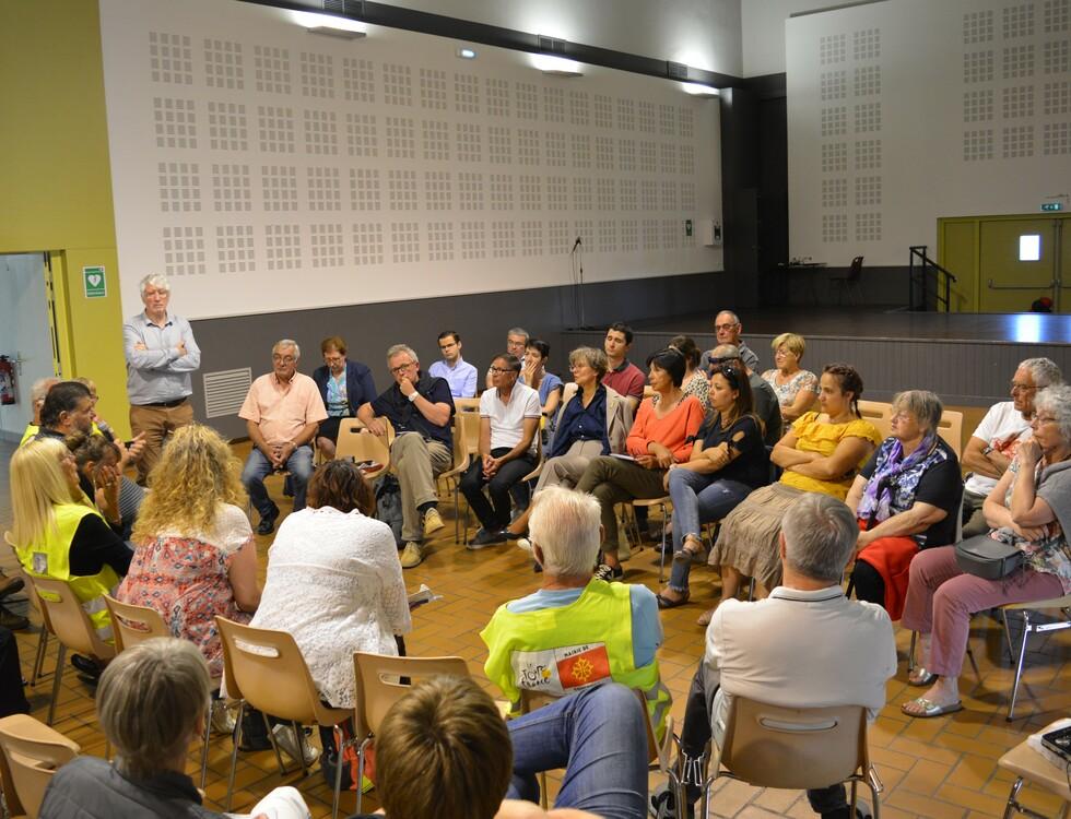 Une trentaine de participants au second débat local (c) Frédérique Gelas